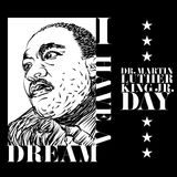 Martin Luther King Day Stock Photo