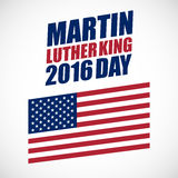 Martin Luther King Day-nationale feestdag Stock Afbeelding