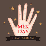 Martin Luther King Day Stock Image