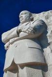 Martin Luther King, estátua do Jr. fotografia de stock
