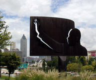 Martin Luther King Jr Atlanta. A statue of Martin Luther King Jr in Atlanta Royalty Free Stock Image