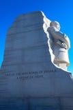 Martin Luther King Jr commémoratif images stock