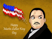 Martin Luther King, Jr. Day background Stock Images
