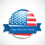 Martin Luther King, Jr. Day background. Illustration of U.S.A Flag for Martin Luther King, Jr. Day royalty free illustration