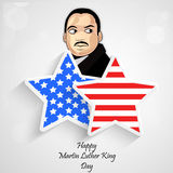 Martin Luther King, Jr. Day background. Illustration of U.S.A Flag for Martin Luther King, Jr. Day vector illustration