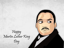 Martin Luther King, Jr. Day background Stock Photography