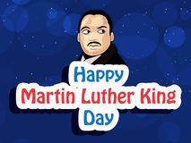 Martin Luther King, Jr. Day background. Illustration of U.S.A Flag for Martin Luther King, Jr. Day Royalty Free Stock Photo