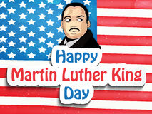 Martin Luther King, Jr. Day background Stock Photos
