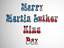 Martin Luther King, Jr. Day background Royalty Free Stock Image