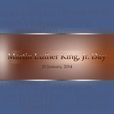 Martin Luther King Jr. Day, 2014 Stock Images
