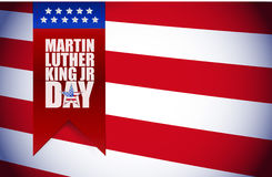 Martin Luther King JR day sign Stock Images