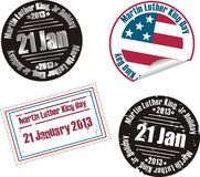 Martin Luther King Jr. Day stamp Royalty Free Stock Photos