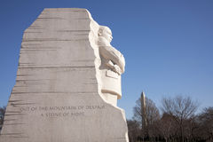 Martin Luther King Jr Memorial Stock Photography