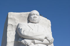 Martin Luther King Jr. Memorial. Detail from the Martin Luther King Jr. Memorial on the National Mall in Washington DC at the tidal basin Royalty Free Stock Photography