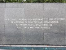 Martin Luther King Jr memorial royalty free stock images