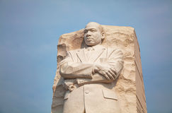 Martin Luther King, Jr memorial monument in Washington, DC Royalty Free Stock Photo