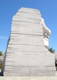Martin Luther King, Jr. memorial, Washington D.C. Royalty Free Stock Image