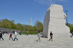 Martin Luther King Jr Memorial, Washington DC Fotografie Stock