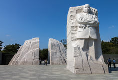 Martin Luther King Jr Memorial. The Martin Luther King Jr Memorial in Washington, DC, United States Royalty Free Stock Photos