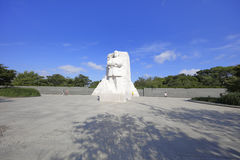 Martin Luther King Jr. Memorial. In Washington DC, USA royalty free stock photography