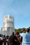 Martin Luther King Jr. minnesmärke, Washington DC Royaltyfri Foto