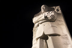 Martin Luther King Jr. monument royaltyfria foton