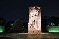Martin Luther King, JR monument commémoratif à Washington, C.C image libre de droits