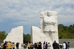 Martin Luther King, Jr Monument in Washington, DC Stock Images