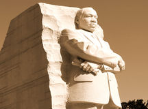 Martin Luther King Jr. Monument Stock Photography