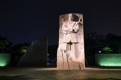 Martin Luther King, JR monumento conmemorativo en Washington, DC Imagen de archivo libre de regalías