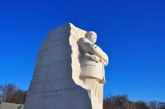 Martin Luther King Jr. pomnik fotografia stock