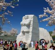 Martin Luther King, jr pomnik Obraz Stock