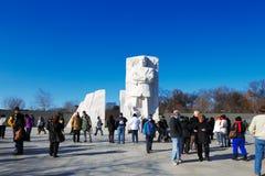Martin Luther King, Jr. pomnik w washington dc, usa zdjęcia stock