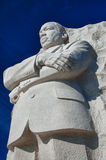Martin Luther King, Jr. Statue. The Martin Luther King, Jr. Memorial statue, located in West Potomac Park in Washington, D.C., USA Stock Photography