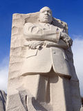 Martin Luther King, Jr. Statue in January. Photo of the martin luther king jr. statue at the martin luther king, jr. national memorial in washington dc. This royalty free stock image