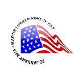 Martin- Luther King Jr.tag - 20. Januar 2014 Lizenzfreies Stockbild
