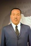 Martin Luther King Jr Wax Figure Stockbild