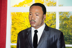 Martin Luther King, Jr. wax figure Royalty Free Stock Photos