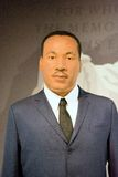 Martin Luther King Jr Wax Figure. Martin Luther King Jr. was an American Baptist minister, activist, humanitarian, and leader in the African-American Civil Stock Image