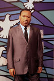 Martin Luther king JR. Wax statue at Madame Tussauds in London royalty free stock image