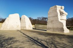 Martin Luther King Junior Memorial Fotos de archivo libres de regalías