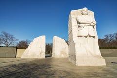Martin Luther King juniora pomnik zdjęcie royalty free