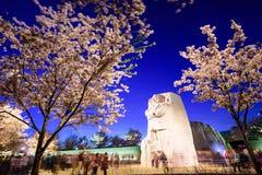 Martin Luther King juniora pomnik fotografia stock