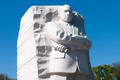 Martin Luther King juniora pomnik zdjęcia stock