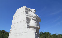 Martin Luther King, mémorial national de Jr. Photos stock