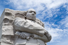 Martin Luther King memorial in DC. Statue in honor of Martin Luther King in Washington DC Royalty Free Stock Image