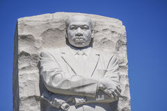 Martin Luther King Memorial i Washington DC - WASHINGTON DC - COLUMBIA - APRIL 7, 2017 Arkivfoton