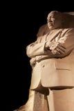 Martin Luther King Memorial Night Washington DC Stock Image