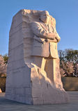 Martin Luther King Memorial at Sunrise Royalty Free Stock Photo