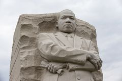 Martin Luther King Memorial In Washington DC Stock Image